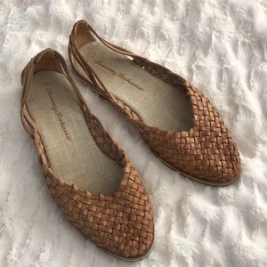 Tommy Bahama woven leather shoes